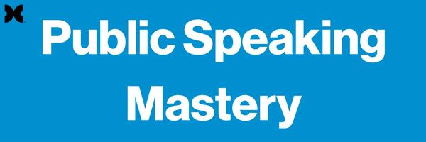 Public Speaking Mastery Header