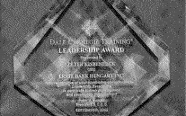 Dale Carnegie Leadership Award