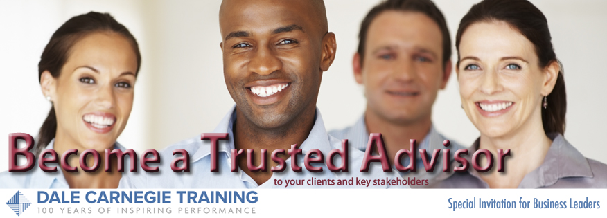 Become a Trusted Advisor