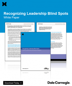 Recognizing Leadership Blind Spots White Paper