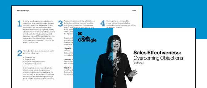 Sales Effectiveness: Overcoming Objections eBook