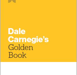 Dale Carnegie's Golden Book